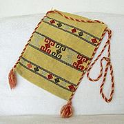 Turkish Kilim Bag Hand Woven And Embroidered