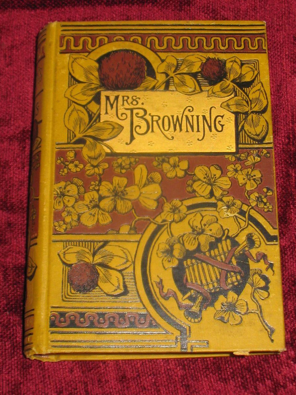 Mrs. Browning book by Elizabeth Barrett Browning