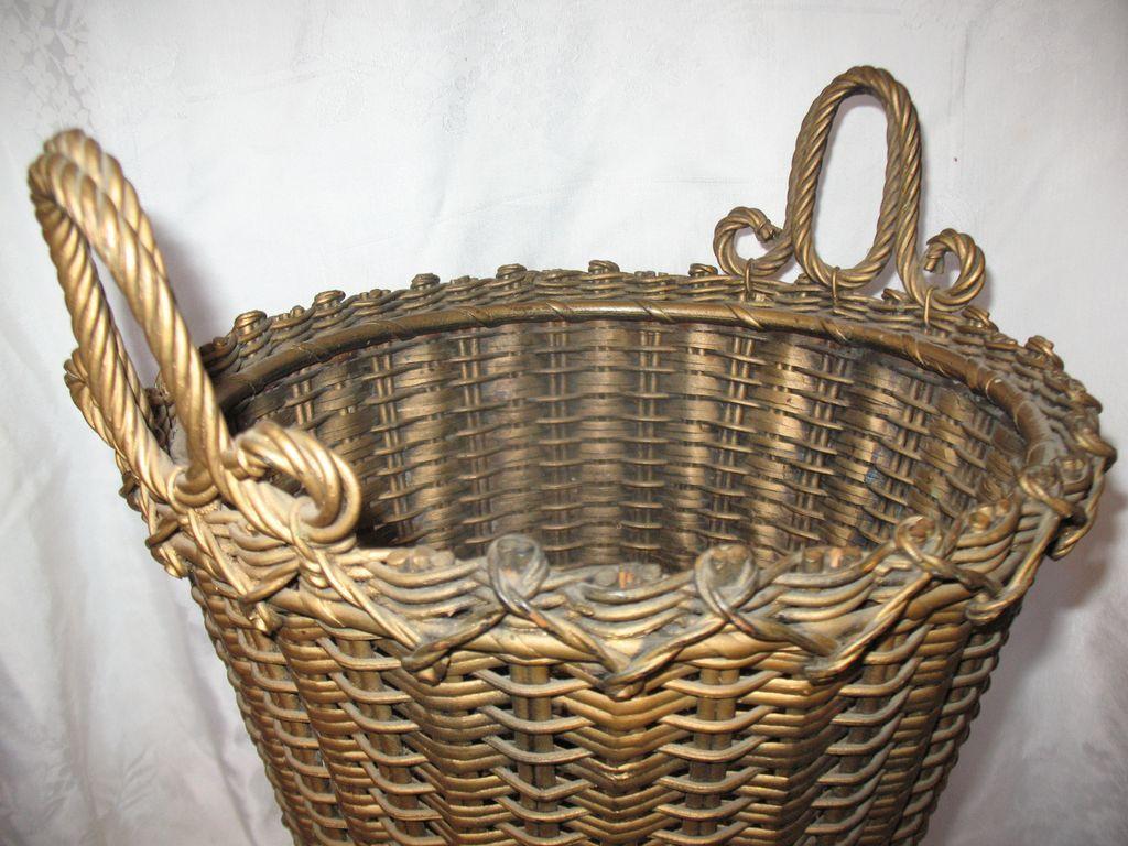 AVictorian Wicker Basket
