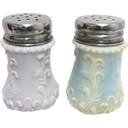 SALE Dithridge Glass Shaker Set American Salt and Pepper