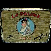 Advertising Pocket Cigar Tin La Palina