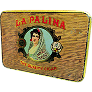La Palina Cigar Advertising Pocket Tin