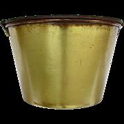 Haydens Brass Kettle, Bucket Pail or Pot