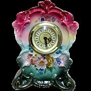 Ansonia Royal Bonn Porcelain Clock