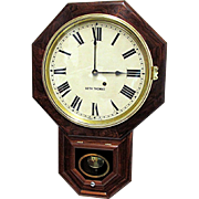 Antique Rosewood Seth Thomas Wall Clock