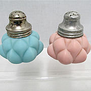 Salt and Pepper Set American Glass Shakers