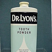 Doctor Lyons Tooth Powder Tin Mint Unopened Condition
