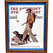 SALE An Autumn Stroll November 16 1935 Saturday Evening Post Norman Rockwell Cover