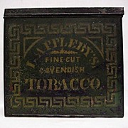 REDUCED Applebys Advertising Tobacco Tin