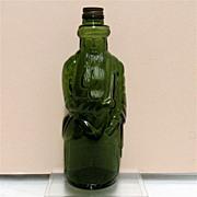 Figural Moses  Bottle