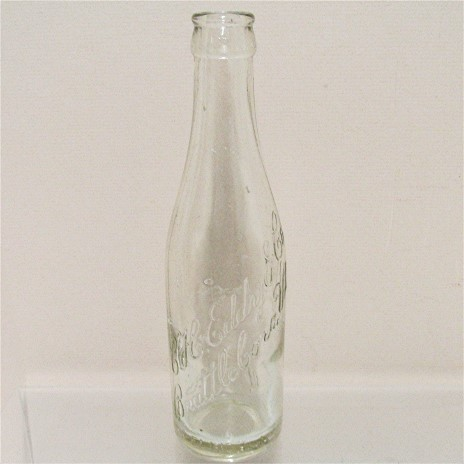 Vermont Soda Bottle C.H. Eddy of Brattleboro Vermont Circa 1902-1909