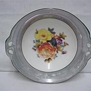 Noritake Serving Dish or Bowl in Grey Luster
