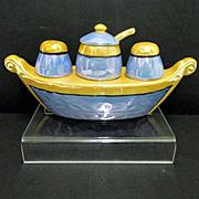 Luster Condiment Set Lusterware Gondola
