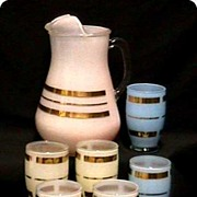 Juice Set Pitcher and Six Glasses