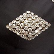 "Hat Pin Art Deco 8"" Gold Gilt  Hatpin   $110"