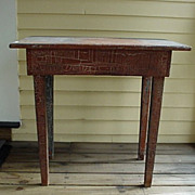 Farm Table with Taper Legs