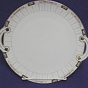 50% OFF Cake Set Nippon Porcelain Platter and Six Servings