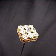 """Hatpin 10"""" long Hat Pin Set with Brilliance  $100"""