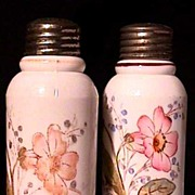 American Glass Creased Neck Salt and Pepper Shakers 50% OFF