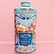 Advertising Tin California Perfume Co. Perfumed Talc Tin 50% OFF