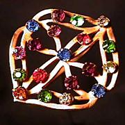 """Hatpin 8 1/2"""" long Art Nouveau  $129"""
