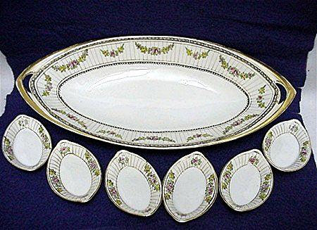Celery Set Nippon Porcelain