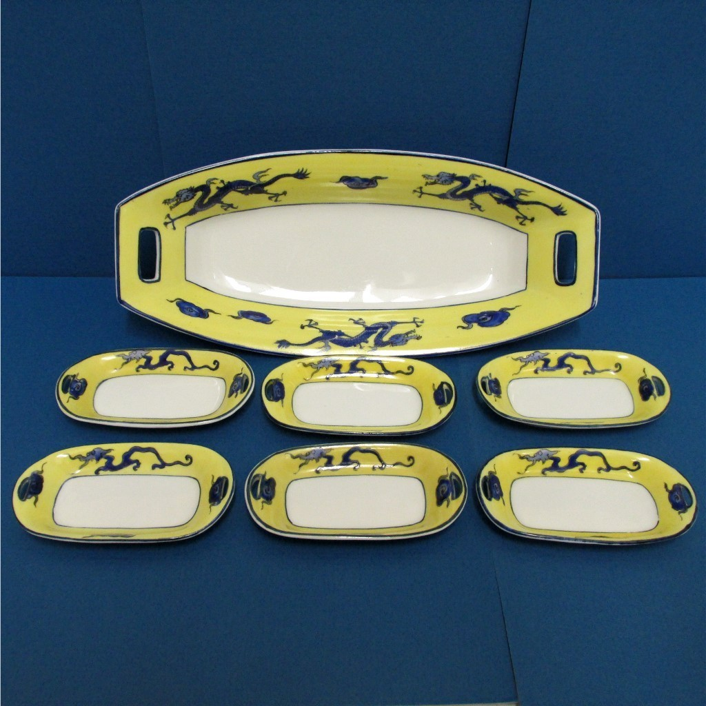 Nippon Porcelain Relish Set Service for 6
