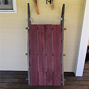 SALE Antique Wood Farm Sled