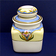 Humidor Noritake Porcelain Art Nouveau Hand Painted