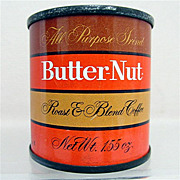 REDUCED Butternut Coffee Unopened Sample Advertising Tin