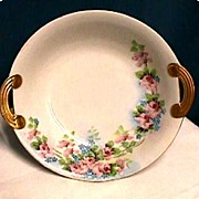 Serving Bowl Nippon Noritake Porcelain Hand Painted