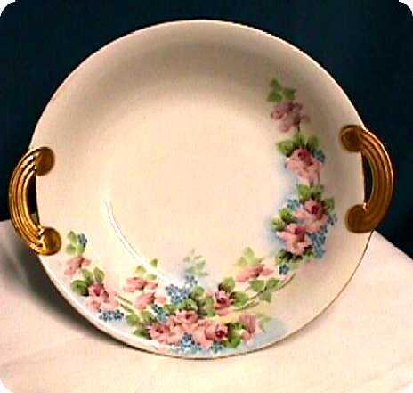 Serving Bowl Nippon Noritake Porcelain Hand Painted