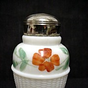 Antique American Glass Single Salt Shaker