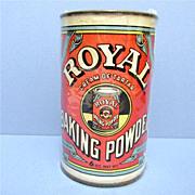 SALE Royal Baking Company Baking Powder Advertising Tin 6 ounce Size