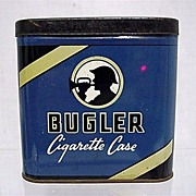 REDUCED Bugler Pocket Advertising Tobacco Tin