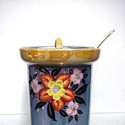 Lusterware Porcelain Jar for Jelly, Jam or Candy  $36