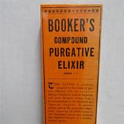 SALE Bookers Liver Medicine Box Mint Unused Condition