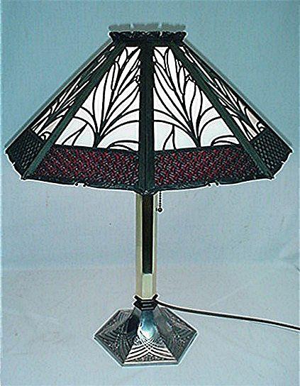 Table Lamp Art Nouveau