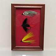 SALE Weber Flies Framed