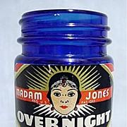 SALE Madam Jones Overnight Cream Cobalt Jar