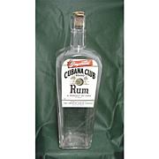 Rum Bottle Cubana Club Brand