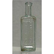 Radways Drugstore or Pharmacy Bottle for Renovating Resolvent
