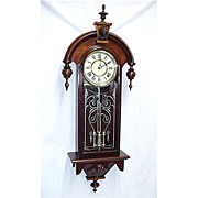 SALE American Wall Clock  By Gilbert Clock Co. Restored, 100% Original 80 Clocks To Choose Fro