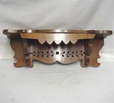 Solid Wood Antique Clock Shelf