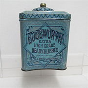 REDUCED Edgeworth Humidor Tobacco Advertising Tin