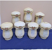 Seven Antique Glass Lamp Shades for Hanging Light Fixture Buy 1 Or All 7