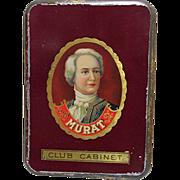 SALE Murat Club Cabinet Pocket Cigar Tin