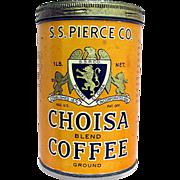 Advertising CHOISA  Coffee Tin MINT