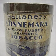 REDUCED Advertising Tobacco Tin For Gallaher's Connemara