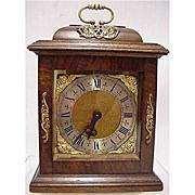 Bracket Clock 15 Jewel for Desk, Table or Mantel